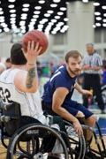Wheelchair-Basketball