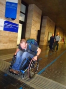 A-university-student-using-wheelchair-hurting-to-class