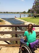 Girl-in-wheelchair-in-the-park
