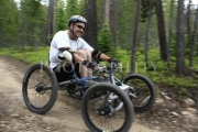 wheelchair;disabled;disability;access;accesible;inclusion;inclusive;leisure;travel;outdoor;handcycle;all-terrain;mountain;bike;man;male