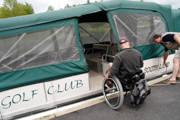 A-man-using-wheelchair-on-dock