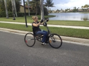 Handcycling-around-the-lake
