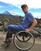 Man-using-wheelchair-in-the-lava-fields-of-Central-Oregon