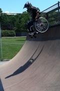 Wheelchair Skating