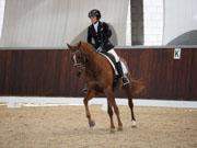 Boneo-Park,-Melbourne,-Australia.-18-October,-2017.-Equestrian-Australia-Para-Equestrian-Grade-4-Individual-Competition.-Lba-Zhia-ridden-by-Amanda-Parsons